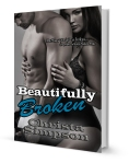 Beautifully Broken by Christa Simpson - 3d e-cover